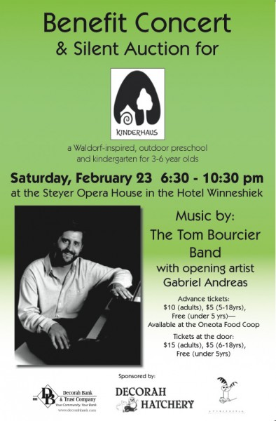 Kinderhaus Benefit Concert and Silent Auction, 2013